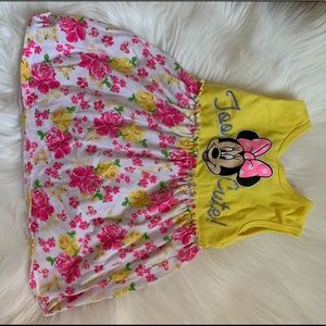 Too cute Minnie dress with bloomers
